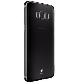 Чехол Baseus Glitter Case для Samsung Galaxy S8 BlackПрактичный чехол защищает девайс при падениях и ударах. Не секрет, что гаджеты часто роняют. Их ремонты стоят недешево. Позаботьтесь об этом заранее — защитите любимый девайс. В этом стильном чехле ваш мобильный гаджет будет долго выглядеть новым.<br>