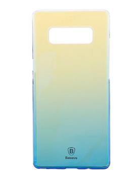 Чехол Baseus Glaze Case для Samsung Galaxy Note 8 BlueПрактичный чехол защищает смартфон при падениях и ударах. Не секрет, что гаджеты часто роняют. Их ремонты стоят недешево. Позаботьтесь об этом заранее — защитите любимый девайс. В этом стильном чехле ваш мобильный гаджет будет долго выглядеть новым.<br>