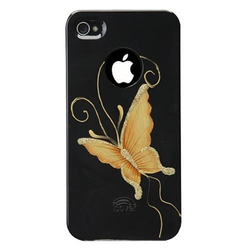 Панель для iPhone 5/5S iCover Hand Printing Elegant Butterfly BlackПанель Hand Printing — надежная и стильная защита для вашего iPhone 5. Яркие натуралистичные цвета и невероятно точные, аккуратные штрихи великолепно смотрятся на темном поликарбонате. Уникальная технология нанесения изображений от iCover позволит панели ...<br>
