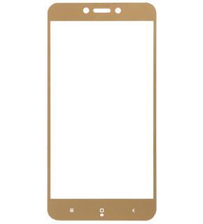 Стекло защитное для Xiaomi Redmi 4x Full Screen 0,33 mm золотоеВысококачественное защитное стекло оберегает сенсорный дисплей смартфона от царапин и повреждений. Прозрачный тонкий аксессуар легко устанавливается и прочно держится на экране. Стекло-протектор не ухудшает эргономику гаджета, не искажает изображение, не ...<br>