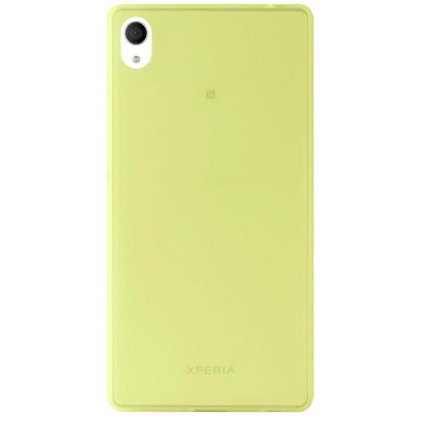 Чехол Puro для Sony Xperia C4 силиконовый 0,3мм зеленый