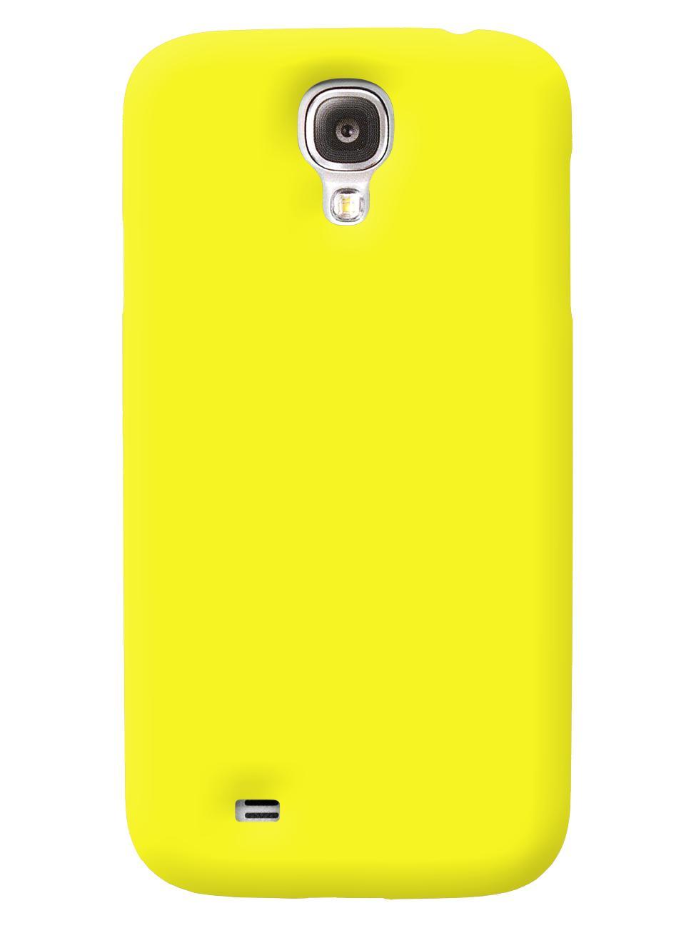 Чехол iCover для Galaxy S IV Rubber lime greenТонкая, яркая, модная и очень надежная. На этом достоинства iCover Rubber точно не заканчиваются. Панель идеально повторяет формы элегантного Galaxy S IV  и не загораживает доступ к элементам управления. Корпус, толщиной всего несколько миллиметров, отлич...<br>