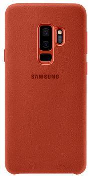 Чехол для Samsung Galaxy S9 Plus Alcantara Cover Red<br>