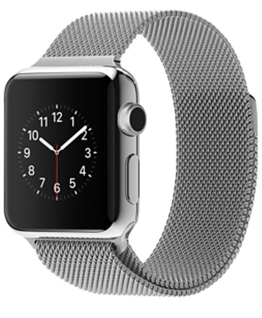 Apple Watch 38mm with Milanese LoopСмарт-часы от престижной компании созданы для людей, обожающих безупречный дизайн. Владелец устройства сможет получать разнообразные уведомления в максимально комфортном наручном формате. Работа с входящими вызовами, почтой, оповещениями станет большим уд...<br>