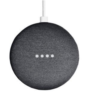 Беспроводная смарт-колонка Google Home Mini Charcoal черная