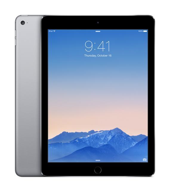 Apple iPad Air 2 64 GbУспешный планшет стал ещё привлекательней и мощнее! Apple iPad Air 2 на новом процессоре Apple A8 резко прибавил в производительности, став одновременно легче и тоньше. Всё это кажется волшебством, ну а цена – 100% оправданной. Планшет обзавелся быстрым с...<br><br>Цвет: Черный