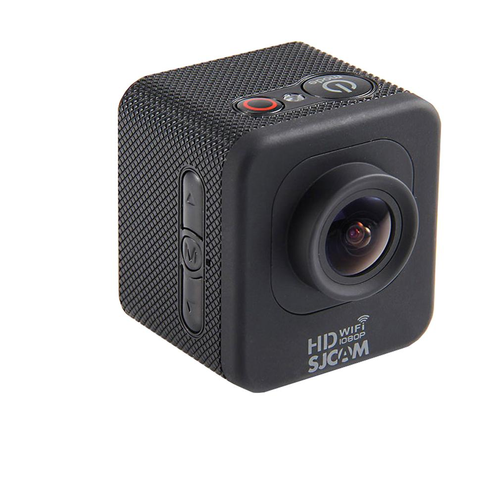 Экшн-камера SJCAM M10 WiFi Cube Mini blackSJCAM M10 WiFi Cube Mini — миниатюрный, но мощный гаджет для съемки динамичных событий. Спортивные состязания, трюки и прочие элементы активного образа жизни — стихия компактной Cube Mini. Несмотря на удивительные размеры, модель снабжена 1,5 дюймовым LCD...<br>