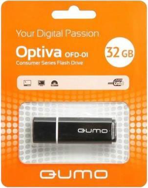 USB-накопитель Qumo Optiva 01 USB 2.0 32GB Black