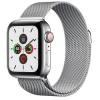 Apple Watch Series 5 GPS+ Cellular 40mm Stainless Steel Case with Stainless Steel Milanese Loop MWX5