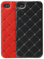 Панель для iPhone 5 iCover Leather Swarovski