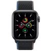 Apple Watch SE GPS + Cellular 40mm Space Gray Aluminium Case with Charcoal Sport Loop MYEL2
