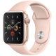 Apple Watch Series 5 GPS 40mm Gold Aluminum Case with Pink Sand Sport Band MWV72