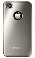 Чехол для iPhone 4/4S More Noel Lumina Silver