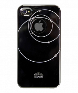 Панель для iPhone 4/4S iCover Swarovski Geometric Mirror Case Dark Silver
