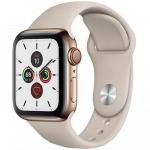 Apple Watch Series 5 GPS + Cellular 44mm Stainless Steel Case