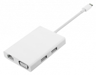 Адаптер-Хаб Mi USB-C to HDMI and Gigabit Ethernet
