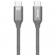 Кабель Dorten USB-C to USB-C PD Tetron Series 2m