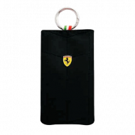 Чехол для iPhone 4/4S Ferrari Scuderia V1 Vertical Flip Pouch Black