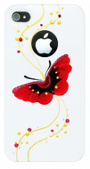 Панель для iPhone 4/4S iCover Hand Printing Butterfly