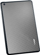 Наклейка для iPad mini SGP SkinGuard carbon gray