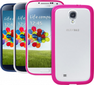 Чехол Puro для Galaxy S IV Clear Cover