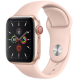 Apple Watch Series 5 GPS+ Cellular 44mm Gold Aluminum Case with Pink Sand Sport Band MWWD2